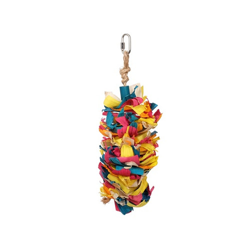 Rustic Treasures Silk Cascade Parrot Toy - Large