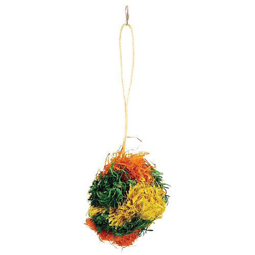 PomPom Preener Parrot Toy Small