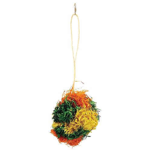 PomPom Preener Parrot Toy