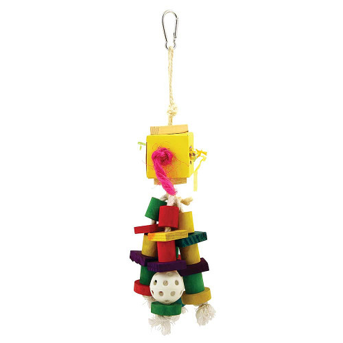 Shred & Find Deluxe Foraging Box Parrot Toy