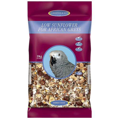 Johnston & Jeff Low Sunflower Diet for African Greys