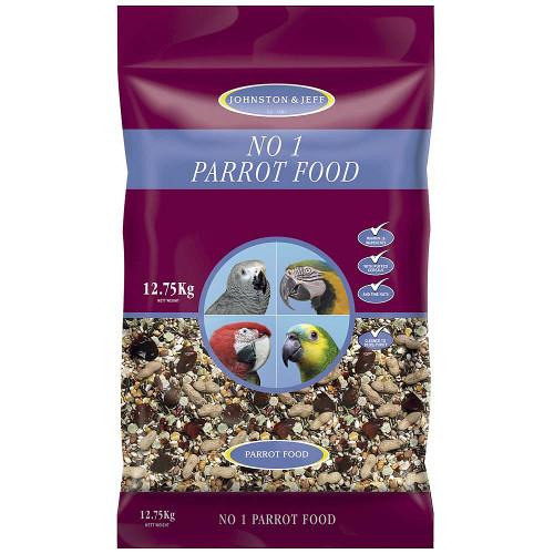 Johnston & Jeff Number 1 Parrot Seed Food