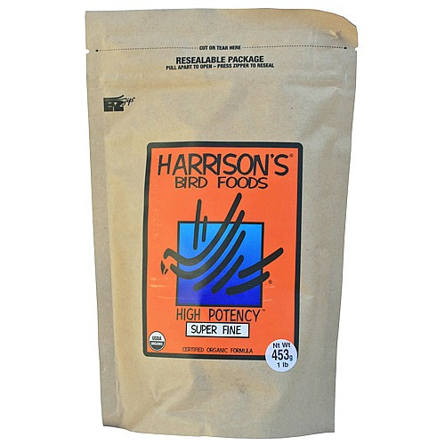 Harrison's High Potency Super Fine 1lb - Organic Bird Food
