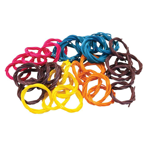 Willow Ring Chains - Parrot Toy Making Parts - Pack of 6