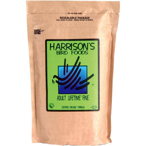 Harrison's Adult Lifetime Fine Organic Parrot Food