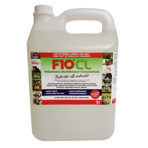 F10CL Veterinary Disinfectant (5 litre)