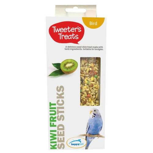 Tweeter's Seed Sticks Budgie Treat - Kiwi