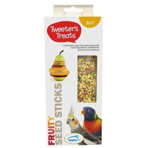 Tweeter's Seed Sticks Parrot Treat - Fruity