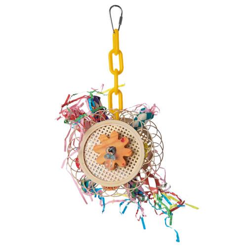Parrot Essentials Pinwheel Parrot Toy
