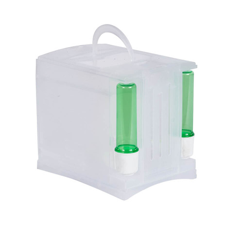 Pet Ting Plastic Transport Box for small parrots