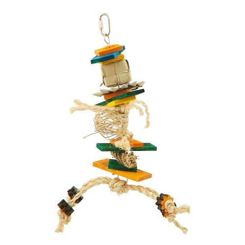 Mambo Stack Shredding Parrot Toy