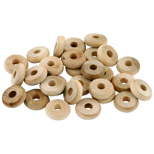 Natural Wood Discs - Parrot Toy Making Parts