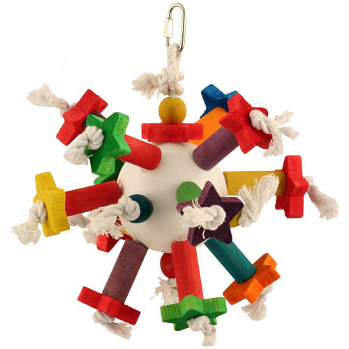 Space Station Hanging Parrot Toy
