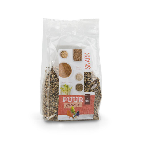 PUUR Snack - Wild Seed Treat Mix for Small Birds 250g