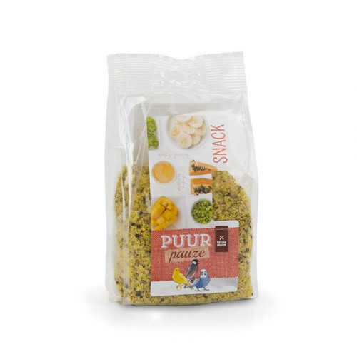 PUUR Snack - Fruit & Herb Crumble for Small Birds 200g