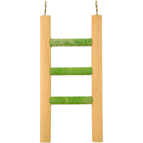 Pedicure Ladder Parrot Toy - 3 Steps