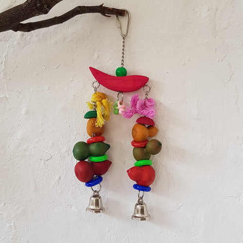 Summer Harvest Chew Parrot Toy