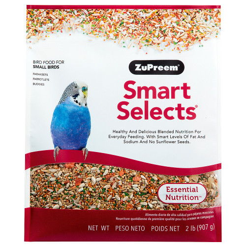 ZuPreem Smart Selects Budgie Food