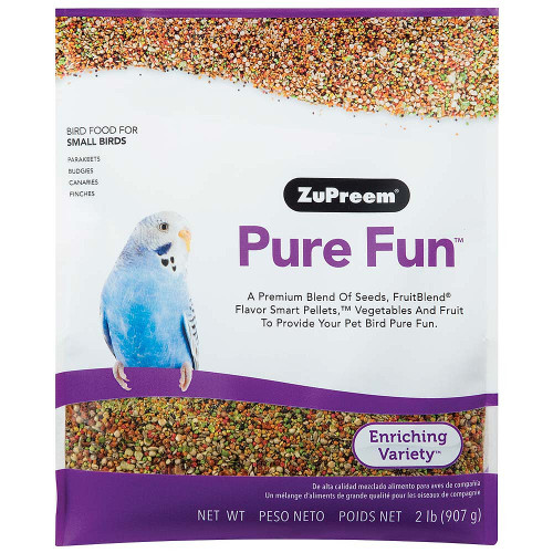 ZuPreem Pure Fun Enriching Food for Small Birds