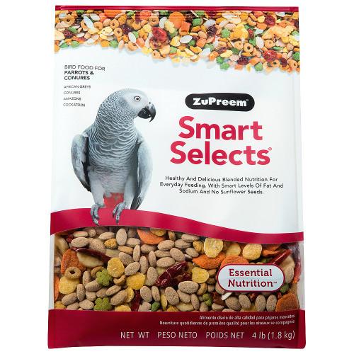 ZuPreem Smart Selects Med/Lrg - Complete Parrot Food