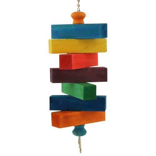 Blocks Ahoy! Wood Parrot Toy - Medium