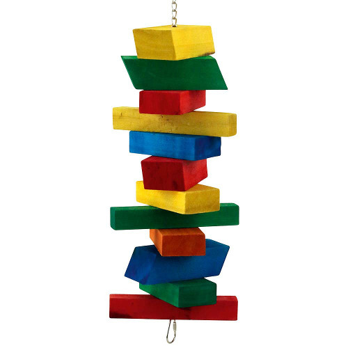 Blocks Ahoy! Wood Parrot Toy - Large