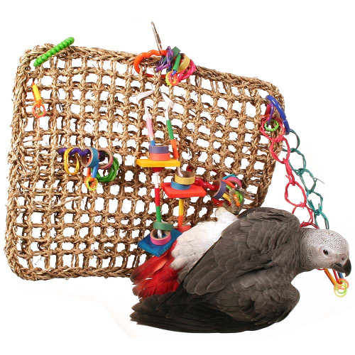 Activity Wall Natural Parrot Toy - Large