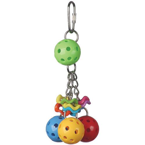 Jingleberries Parrot Toy