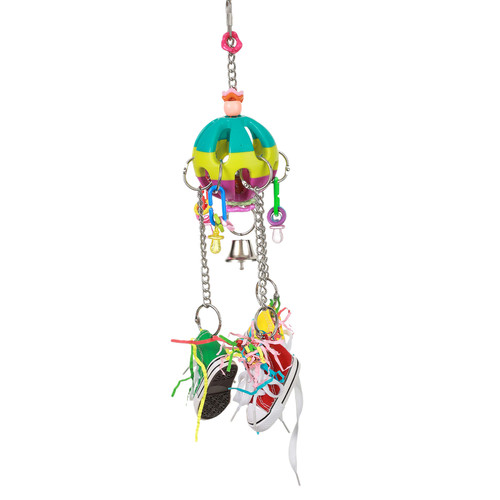 Parrot Essentials Kick Ball Parrot Toy with Bell