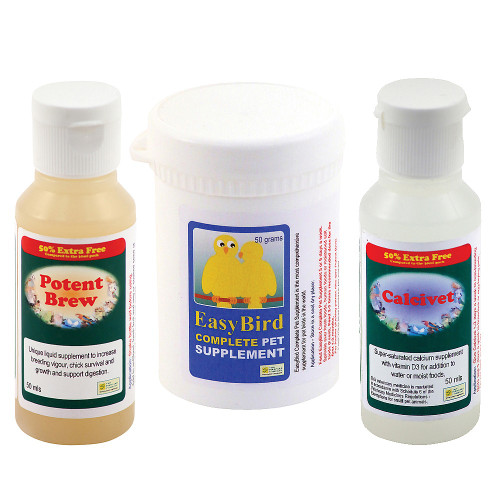 Feather Plucking Parrot Rescue Pack