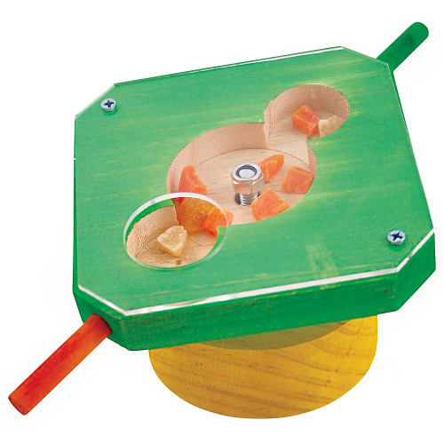 Treat Maze Foraging Parrot Toy