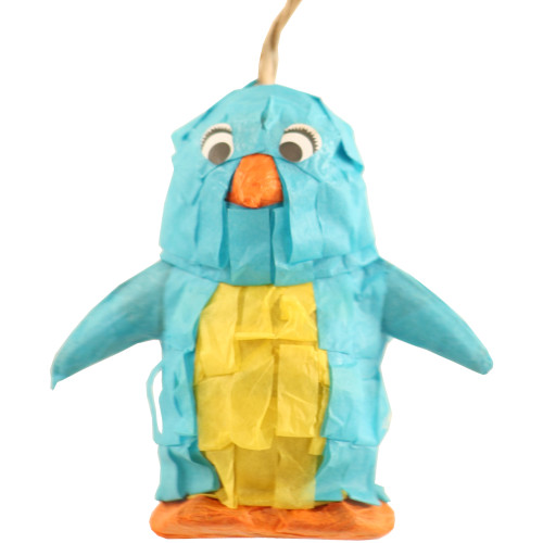 Fill-Your-Own Mini Pinata Penguin Parrot Toy