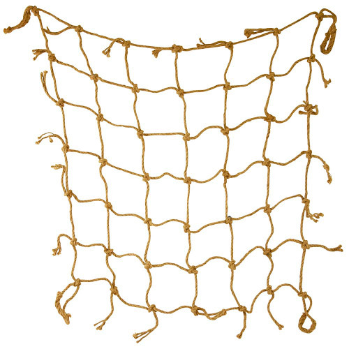 Jute Rope Climbing Net Parrot Toy