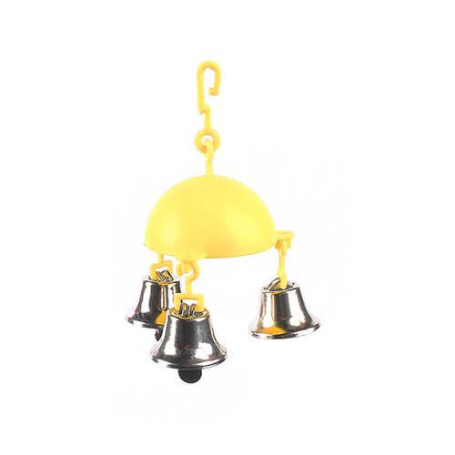 Trio Bell Ringer Parakeet and Budgie Toy