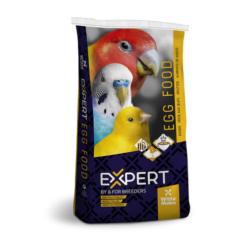 Expert Parrot & Bird Egg Food - Red