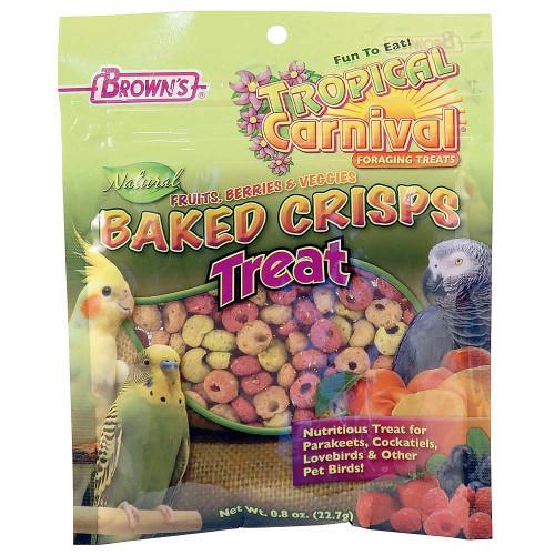 Brown's Baked Fruit and Veggie Bites Parrot Treats