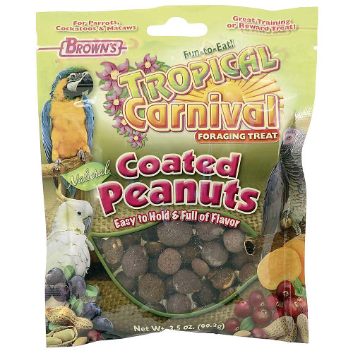 Brown's Fruit and Vegetable Coated Peanut Parrot Treats