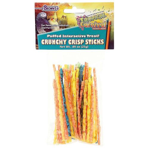 Brown's Crunchy Crispy Sticks Parrot Treats