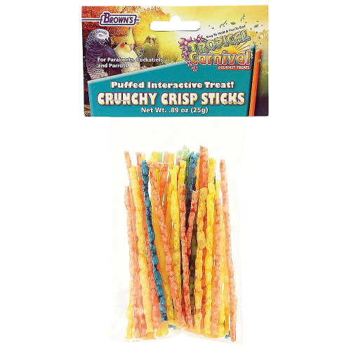 Brown's Crunchy Crispy Sticks Parrot Treats