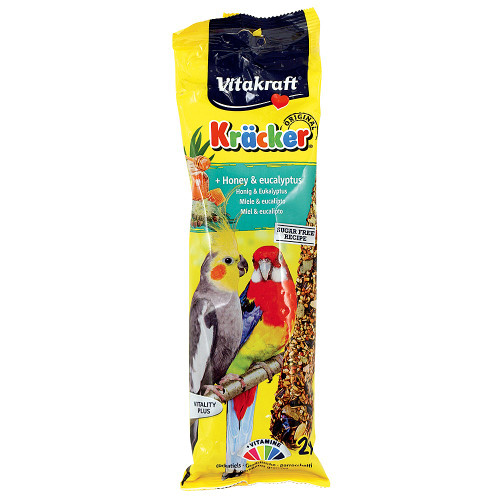Vitakraft Cockatiel Treat Sticks Honey & Eucalyptus