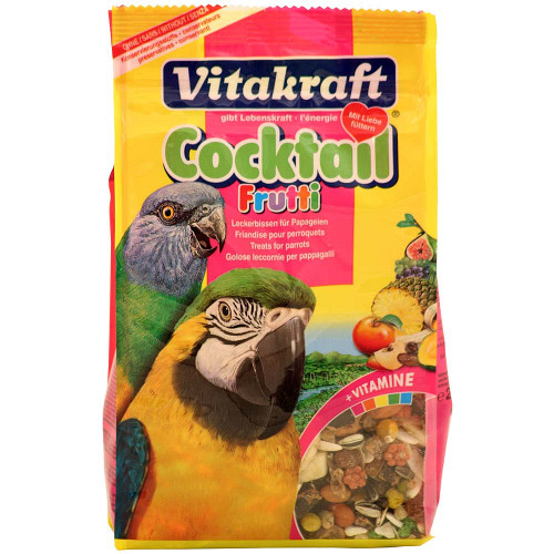 Vitakraft Fruitti Cocktail - Parrot Treat - 250g