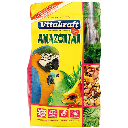Vitakraft Amazonian Parrot Food - 750g
