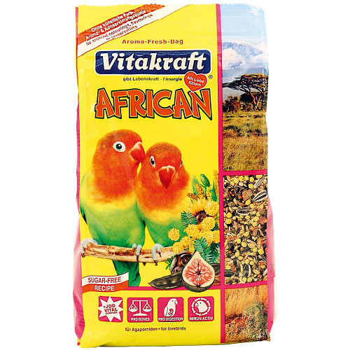 Vitakraft Small Parrot African Food - 750g