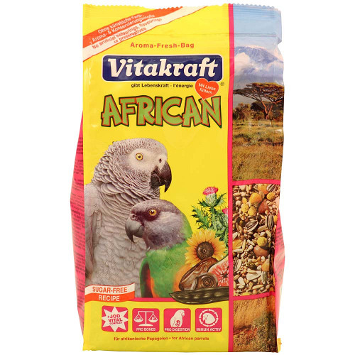 Vitakraft Large African Parrot Food - 750g