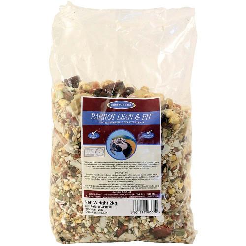 Johnston & Jeff Lean & Fit No Sunflower No Peanut Parrot Food