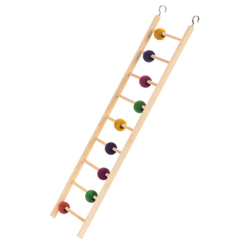 Interactive Ladder Activity Parrot Toy - 9 Steps
