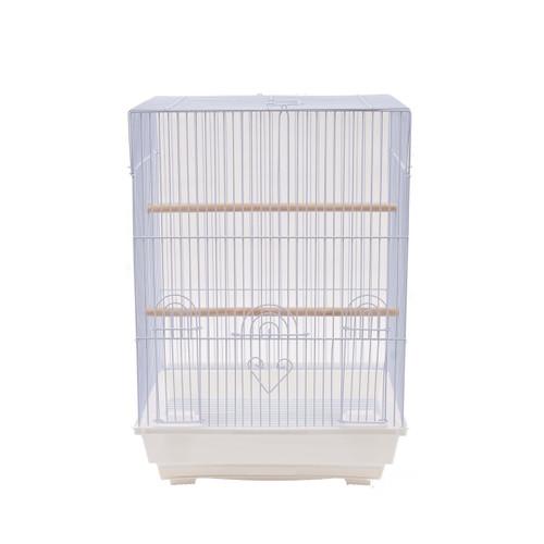 Parrot Essentials - Sofia Bird & Parakeet Cage - White