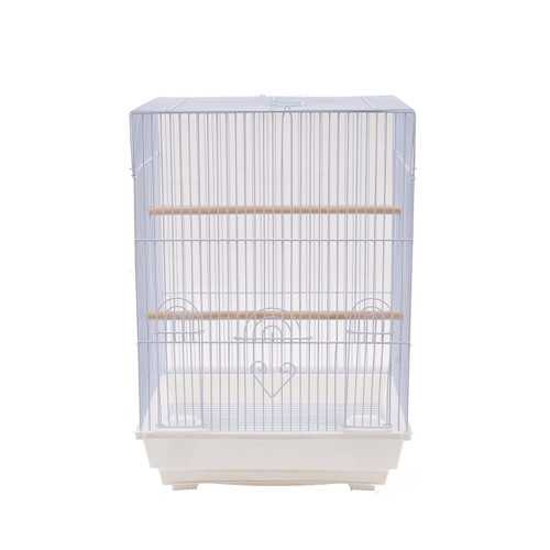 Parrot Essentials - Sofia Bird & Parakeet Cage - White