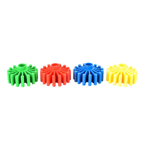 Clog Wheel Foraging Foot Parrot Toy - Pack of 4