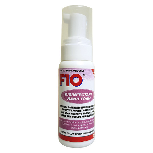 F10 Hand Foam - Waterless Hand Sanitiser